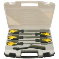 Sada pilníkov 6 dielna 200 mm v plastovom kufri, PROTECO